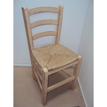 Professional Wooden Chair Sifnos  for Restaurant, Cafe, Tavern, Bistro, Pub, gastronomy, Cafeteria, Ouzeria