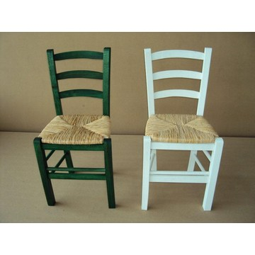 Professional Traditional Wooden Chair Sifnos for Restaurant, Cafe, Tavern, gastronomy, bistro, pub, Cafeteria