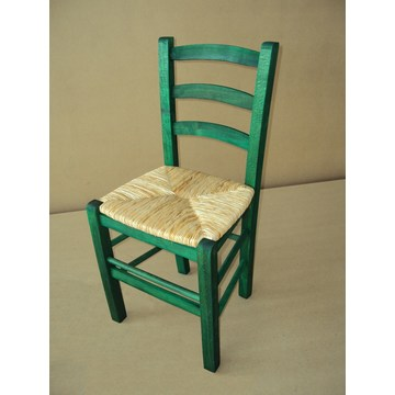 Professional Traditional Wooden Chair Sifnos for Restaurant, Coffee shops, gastronomy, Tavern, bistro, pub, coffee bars