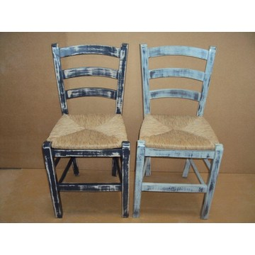 Professional Traditional Wooden Chair Sifnos for Restaurant, Cafe, Tavern, Cafeteria, Gastro, Pizza, bistro