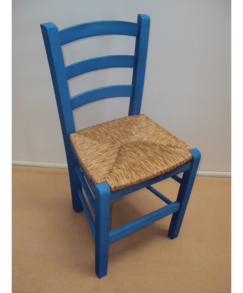 Traditional Wooden Chair Sifnos