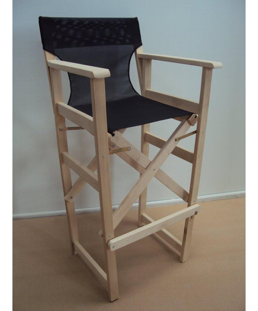 Professional Director Stool with Perforated PVC