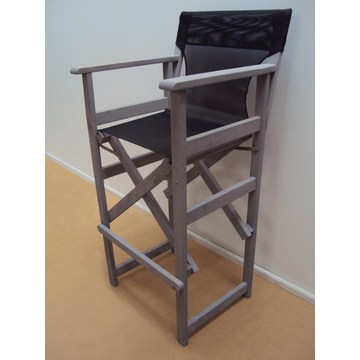 Profesjonalne Krzesło reżyserskie Stołki dla restauracji, kawiarnia, kawiarnia, bistro, ogród, basen, kawiarnia