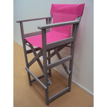 Profesjonalne Krzesło reżyserskie Stołki do kawiarni, kawiarni, bistro, ogrodu, basenu, kawiarni