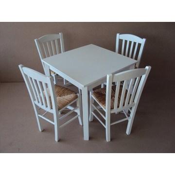 Table en bois traditionnelle professionnelle pour la gastronomie, le restaurant, la taverne, le bistrot, le pub, le café-bar