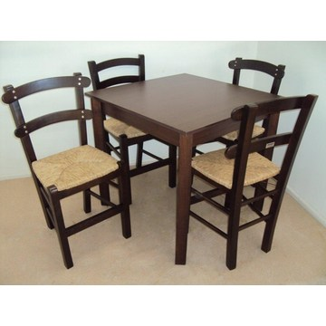 Traditional Wooden Table for Cafeteria, Restaurant, Tavern, Gastro, Bistro, Cafe Bar, Pub