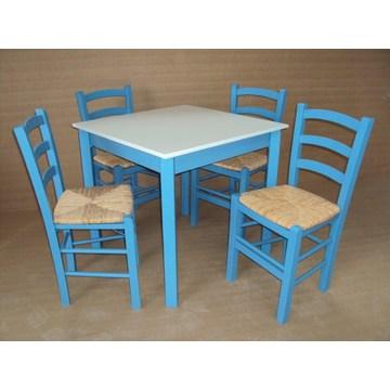 Table en bois traditionnelle pour Bistro, Pub, Gastronomie, Restaurant, Taverne, Café Bar, Gastro