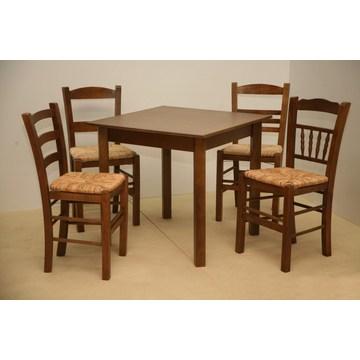 Table en bois traditionnelle pour la gastronomie, restaurant, taverne, café-bar, Bistro, Pub, Gastro