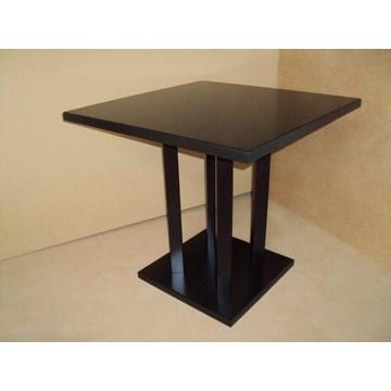 Table en bois professionnelle pour la gastronomie, restaurant, taverne, pizzeria, pub, bistro, café Ba
