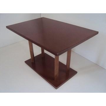 Table en bois professionnelle pour restaurant, taverne, gastronomie, pizzeria, pub, café bar, bistros