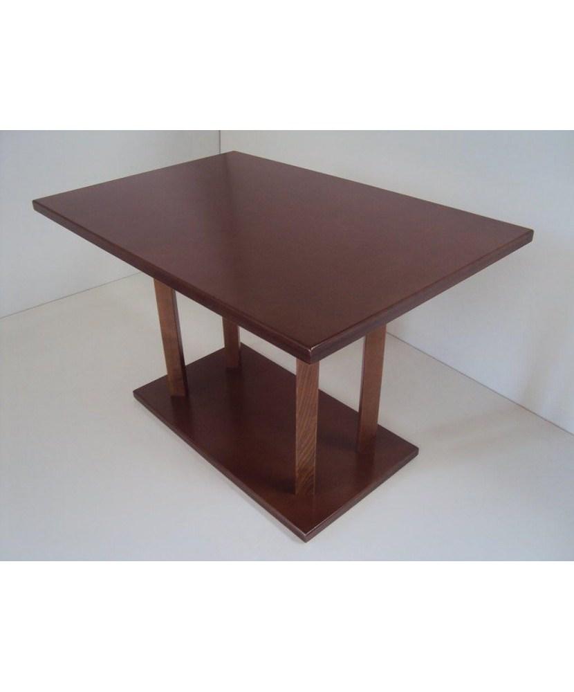Professioneller Holztisch für Cafeteria Restaurant Taverne Gastronomie Pizzeria Pub Cafe Bar (120X80)