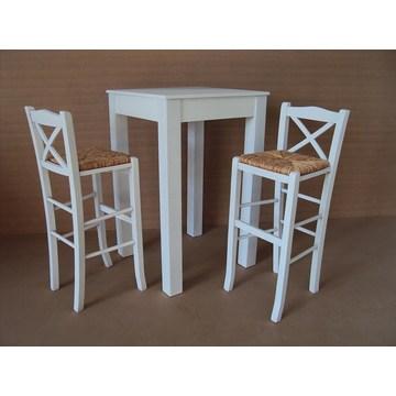 Tables hautes professionnelles, tables hautes pour bar-restaurants, table haute pour café-bar, bistrot, pub, restaurants.