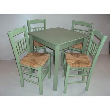 Table en bois traditionnelle pour Bistro, Pub, Cafétéria, Restaurant, Taverne, Café Bar, Gastro