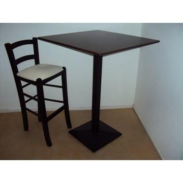 Profesjonalne drewniane wysokie stoły do baru, kawiarni, bistro, pubu, kawiarni, baru - restauracja, tawerna, kawiarnia, gastronomia
