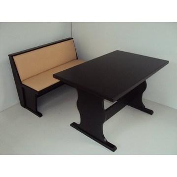 Profesjonalny drewniany stolik klasztorny dla restauracji, tawerna, kawiarnia, kawiarnia, bistro, gastronomia, kafeteria
