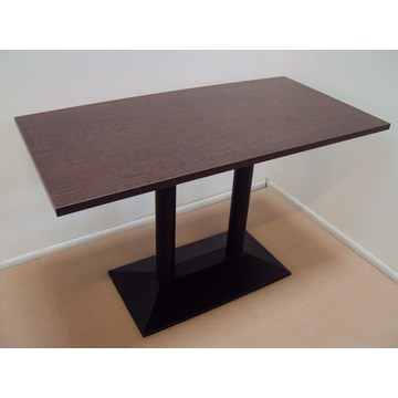 Professional Wooden Table with Cast iron base for Cafe, Bar - Restaurant, Bistro, Pub, Tavern, Gastro, Pizzeria
