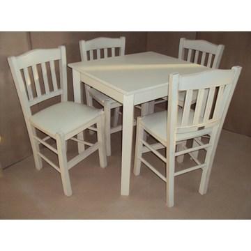 Profesjonalny drewniany stół tradycyjny dla restauracji, tawerna, bistro, pub, kawiarnia, kawiarnia, gastronomia