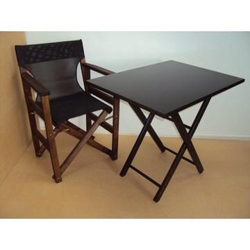 Table pliante professionnelle en bois pour café, Ouzeri, cafétéria, restaurant, taverne.