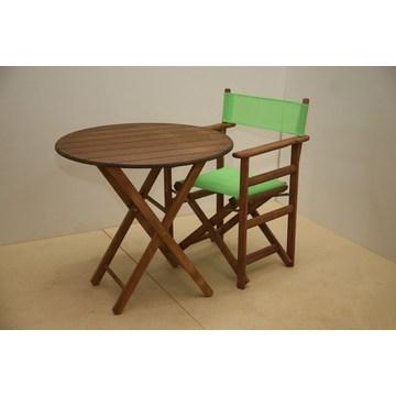 Profesjonalny drewniany stolik składany na basen, do ogrodu, Cafe Bar, Bistro, Pub