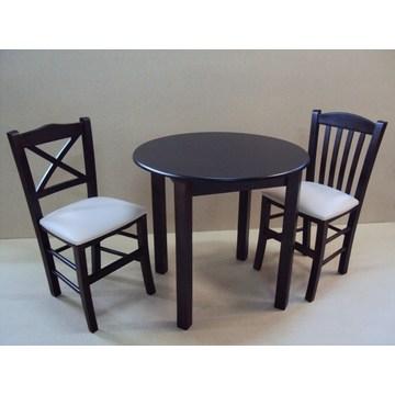 Profesjonalny Drewniany Stół Cafe Kawiarnia Restauracja Bistro Pub