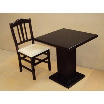 Table professionnelle en bois pour cafétéria Restaurant Tavern Gastronomie