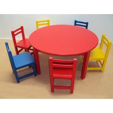 Profesjonalny drewniany stolik dziecięcy dla przedszkoli i przedszkoli