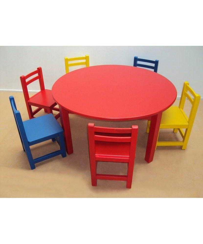 Professional Children's Wooden Table nurseries and kindergartens