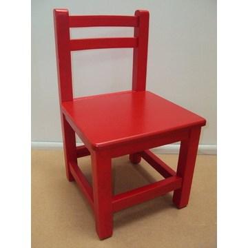 Profesjonalne drewniane krzesło dla dzieci odpowiednie dla sprzętu do przedszkoli i przedszkoli.