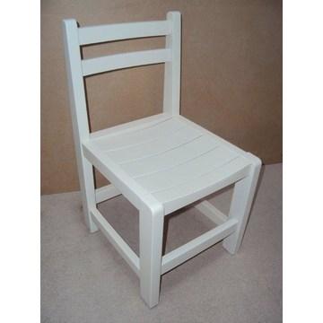 Profesjonalne drewniane krzesło dla dzieci odpowiednie dla sprzętu do przedszkoli i przedszkoli .