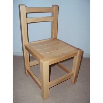 Chaise professionnelle en bois pour enfants pour les maternelles et les jardins d'enfants