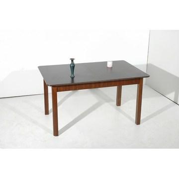 Dining table Walnut Glaze additional opening