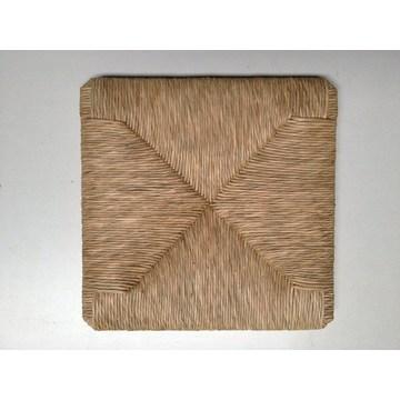 Natürlicher Korbstuhl für Stühle Cafe Restaurant Taverne Cafe (37 × 37 cm)