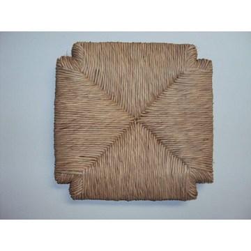 Scaun natural de răchită pentru restaurantul Stool Cafe, tavernă, cafenea, cafenea tradițională (33 x 33 cm).