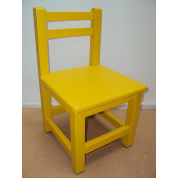Children's Wooden chair from 23 € Lacquer suitable for Equipment for nurseries and kindergartens by drier beech wood.