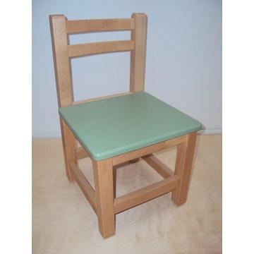 Profesjonalne dziecięce krzesło drewniane dla przedszkoli i przedszkoli