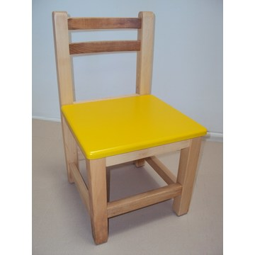 Professional Children's wooden Baby chair € 23 lacquer