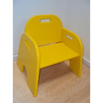 Профессиональный детский деревянный детский стул, подходящий для оборудования для детских садов и детских садов.