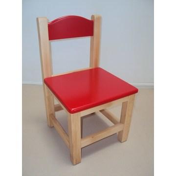 Profesjonalne drewniane krzesło dla dzieci odpowiednie dla sprzętu do przedszkoli i przedszkoli
