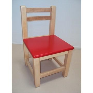 Professioneller Kinderstuhl aus Holz € 23 Lack