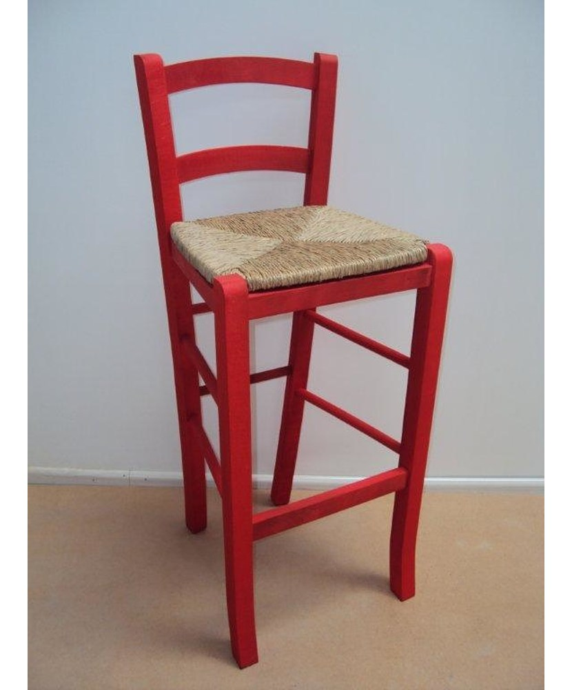 Professional Wooden Stool Sifnos