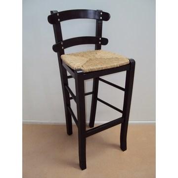 Scaun tradițional de tăiat din lemn