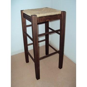 Scaun profesional din lemn fără spate pentru Bar - Restaurant, Cafe, Bistro, Pub, Tavernă, Taburete Cafenele