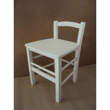 Profesjonalny drewniany stołek Sifnos do baru - restauracja, kawiarnia, tawerna, kawiarnia, stołki, kawiarnie, kawiarnie