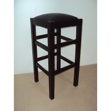 Profesjonalny drewniany stołek bez pleców na bar - restauracja, bistro, pub, kawiarnia, tawerna, stołki, kawiarnie, kawiarnie