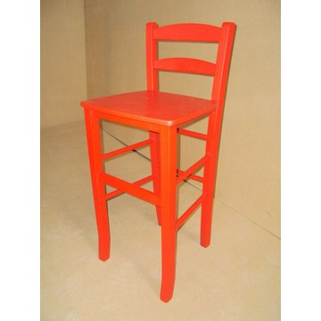 Professional Wooden Stool Sifnos Bar - Restaurant, Cafe, Tavern, Stools Coffee shops, coffee bars