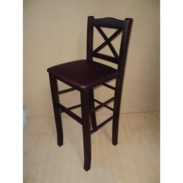 Profesjonalny drewniany stołek Chios do baru - restauracja, kawiarnia, bistro, pub, tawerna, stołki, kawiarnie, kawiarnie