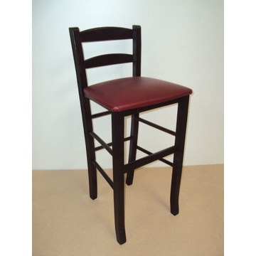 Professional Wooden Stool Sifnos for Bar- Restaurant, Cafe, Tavern, Cafeteria, Stools Coffee shops, coffee bars