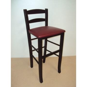 Профессиональный деревянный стул Sifnos для бара - ресторан, кафе, таверна, кафетерий, табуретки Кофейни, кофейни