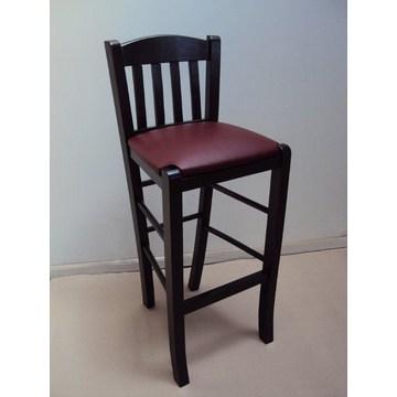 Profesjonalny drewniany stołek Imvros do baru - restauracja, kawiarnia, tawerna, kawiarnia, stołki Kawiarnie, kawiarnie