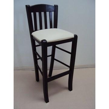 Drewniany stołek Imvros